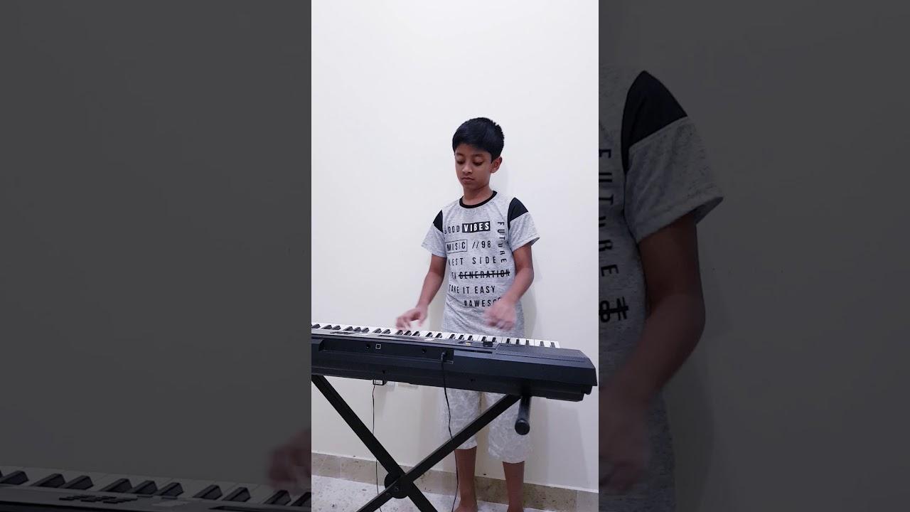 93c01359 Shyama meghame nee keyboard cover - YouTube