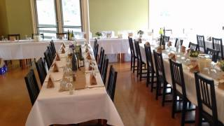 Top Of The Range, Mount Macedon (wedding Table Setup Slideshow)