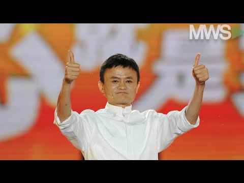 Alibaba rises on results after gaining +30% in one month