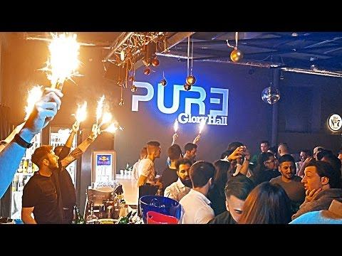 Nightclub PURE Stuttgart Germany 4K Nachtclub Diskothek Дискотека Ночной клуб.