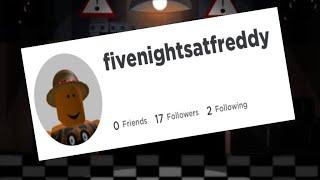 Five nights at freddy's using ROBLOX usernames