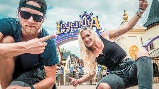 LEGENDIA ⚡ Lech Rollercoaster Test ⚡ Treneiro Vlog