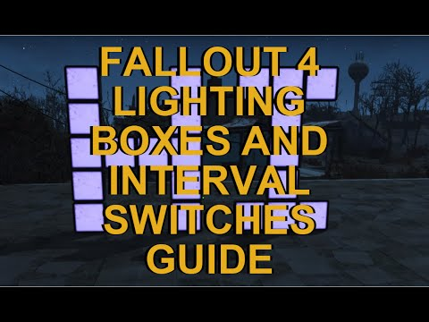 Fallout 4 Advanced Settlement Guide. Lighting Boxes and Interval Switches