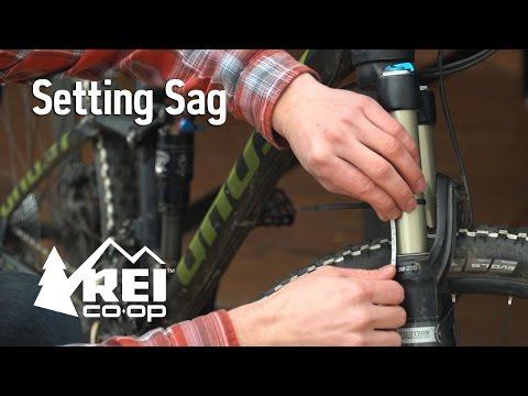 How to Set Sag on a Mountain Bike   REI Expert Advice