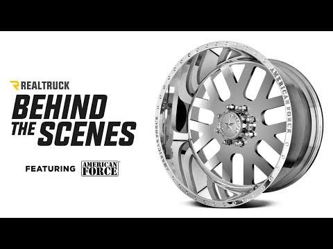 Behind The Scenes of American Force Wheels