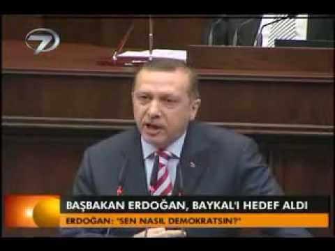 Erdoğan'dan Baykala Başörtüsü Cevabı