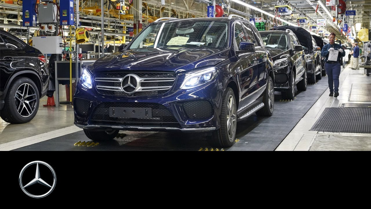 Mercedes Benz US Plant In Tuscaloosa: Celebrating The Past U2013 Electrifying  The Future