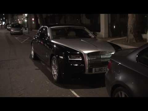 Rolls Royce Ghost on Curzon Street, London