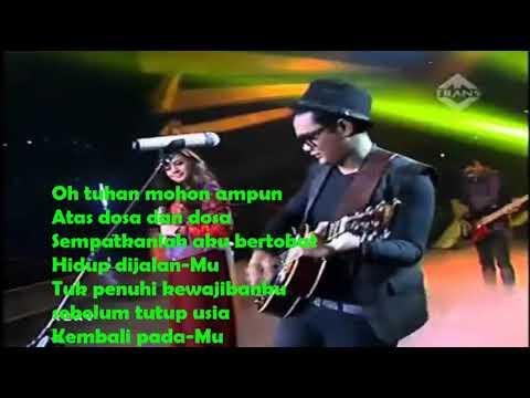Lirik Lagu Gigi - AKhirnya Cover Last Child Feat Aby Indonesia Mencari Bakat