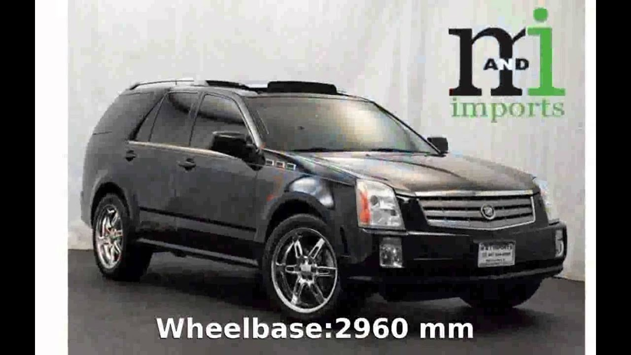 2005 cadillac srx specification and specs