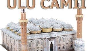 Bursa Ulu Camii 3d Puzzle - Maket Yapımı