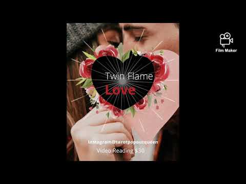 Twin Flame Video Readings Available Instagram @tarotpopoutqueen D.M. for more info