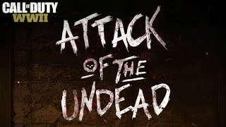 Attack of the Undead Community Event in COD WWII featuring 3 New Multiplayer Modes, New Gear + More!