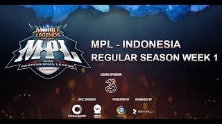 MPL - ID Regular Season, Week 1, Day 1! RRQ VS Pk