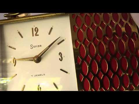 Reuge musical alarm clock