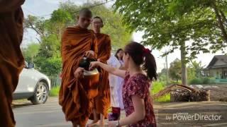 Pindapata Pabbajja Samanera at. Pubbārāma Buddhist Centre (PBC) Part. 1