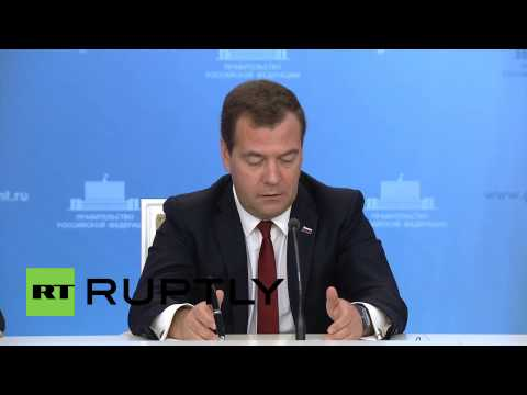 """Russia: """"Chinese-Russian economic ties on the rise"""" - Medvedev"""