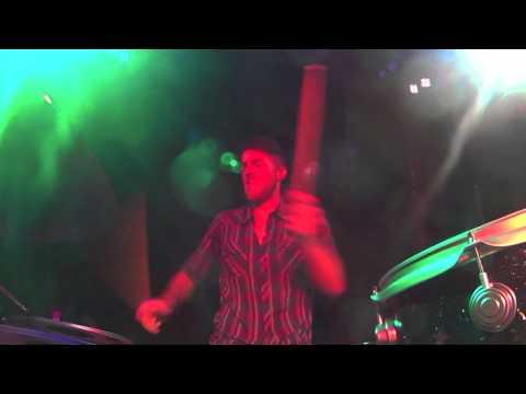 "Drummer Drew Scheuer performs ""Waking Up The Rooster"" by James Wesley live in Foxborough,MA"