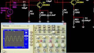 BJT Parte 13 Amplificador con resistencia de emisor sin desacoplar, retroalimentación negativa