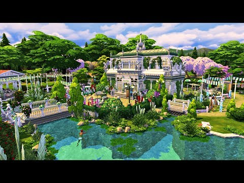 The Sims 4 - CAMPUS PARK - | Speed Build