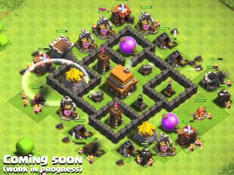 Clash of Clans - The Lightning Spell Introduction   clash-wiki.com