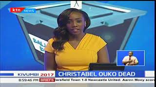 The late Robert Ouko's widow Christabel Ouko dies at Kipsitet junction-Muhoroni