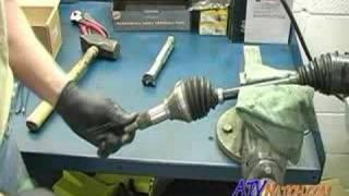 CV axle and joint dissambly - CV man
