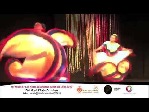 15º Festival Los Niños de America Bailan en Chile