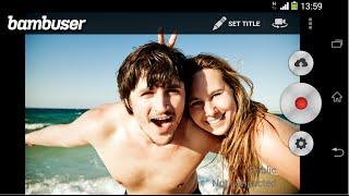 Bumbuser - прямая трансляция видео - Live TV своими руками(Сегодня мы Вам покажем, как превратить Ваш мобильный телефон на базе Android в видео камеру, которая будет вест..., 2015-02-28T13:08:22.000Z)