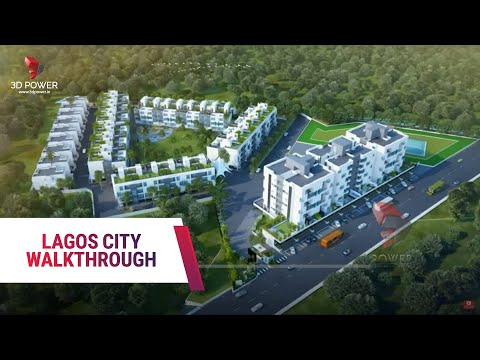 Lagos City 3D Walkthrough Nigeria - Africa