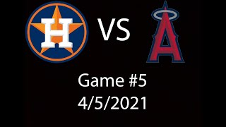 Astros VS Angels Highlights 4/5/21