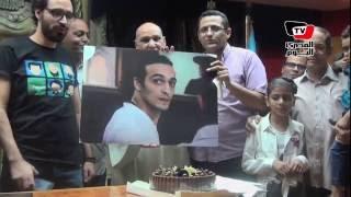 احتفال «حريات الصحفيين» بعيد ميلاد المصور«شوكان»