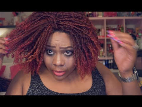 Bobbi Boss Synthetic Hair Wig M833 Soul Locs Review YouTube