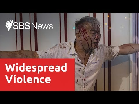 Hong Kong experiences another night of widespread and violent street clashes