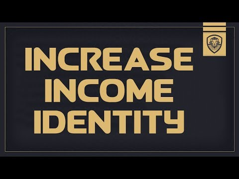 Increase your Income Identity - How to Make More Money with Valuetainment