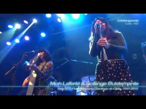 Mon Laferte - Salvador ( Mix-Cam - Sala SCD Plaza Vespucio, Stgo.de Chile - 31.01.2015 )