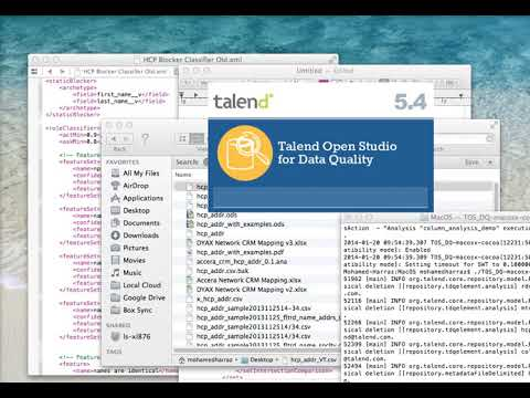 Data Profiling using Talend Open Studio for Data Quality