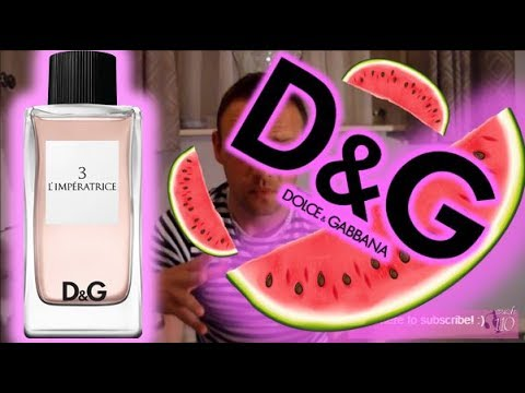 D&G LImperatrice Anthology No 3 Fragrance Review