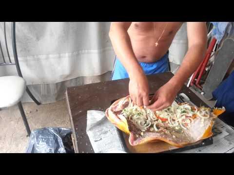 Boga y sardinas a la parrilla en el delta doovi - Como cocinar sardinas ...