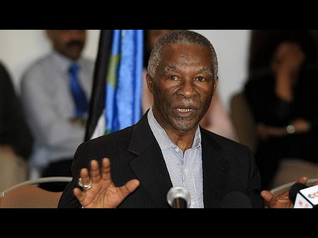 S. Africa's ex-president Mbeki accuses ANC of 'racist' land reforms