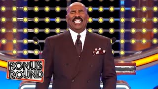 BOOZY ACTIONS! 5 Funny If ___ Got Drunk! Steve Harvey Asks The Questions On Family Feud USA