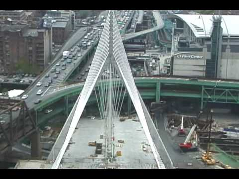 BOSTON 2001, Zakim Bridge,  DRIVE THE OLD I-93 OVERPASS ARTERY, The Big Dig, Joe Practice™,