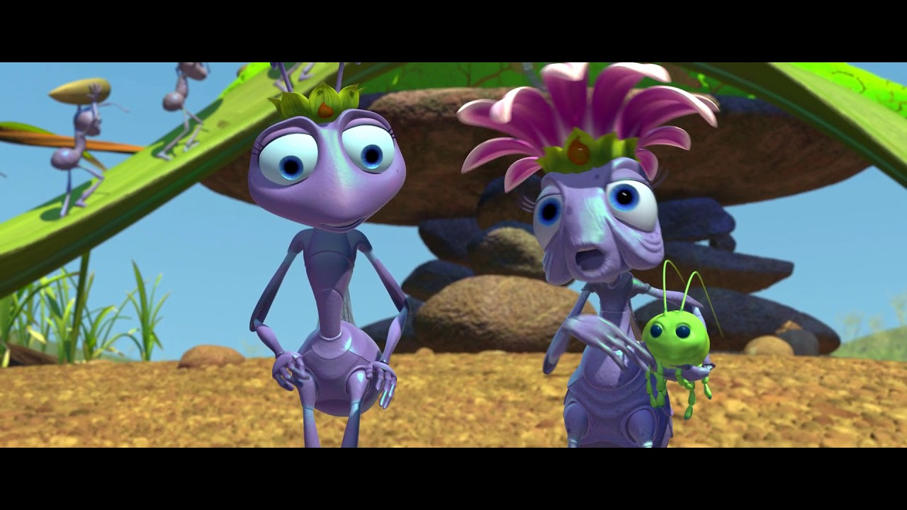 Characters In A Bug S Life 1998 That Scene Youtube