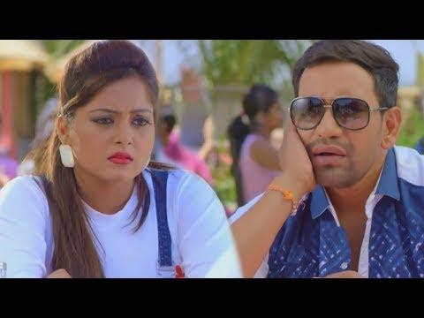 निरहुआ और अंजना ने मनाया सुहाग रात - Nirahua - Anjana Singh - Bhojpuri Film Comedy Scene