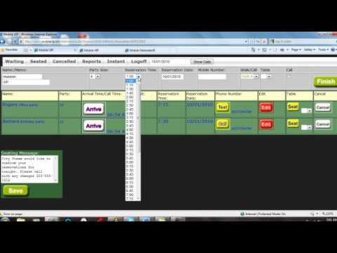 Text Message Reservation System - Matradee Tutorial