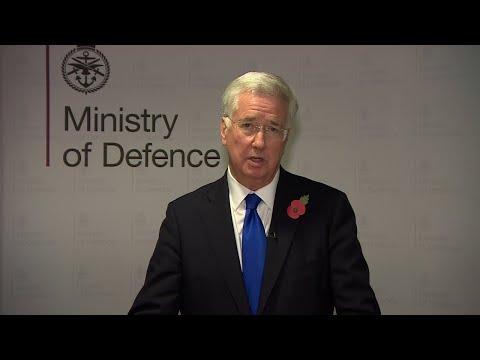 Michael Fallon quits as U.K. Defence Secretary amid harassment claims