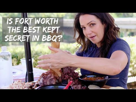 Check Out The Incredible Fort Worth BBQ Scene - Best Kept Secret! | Jess Pryles