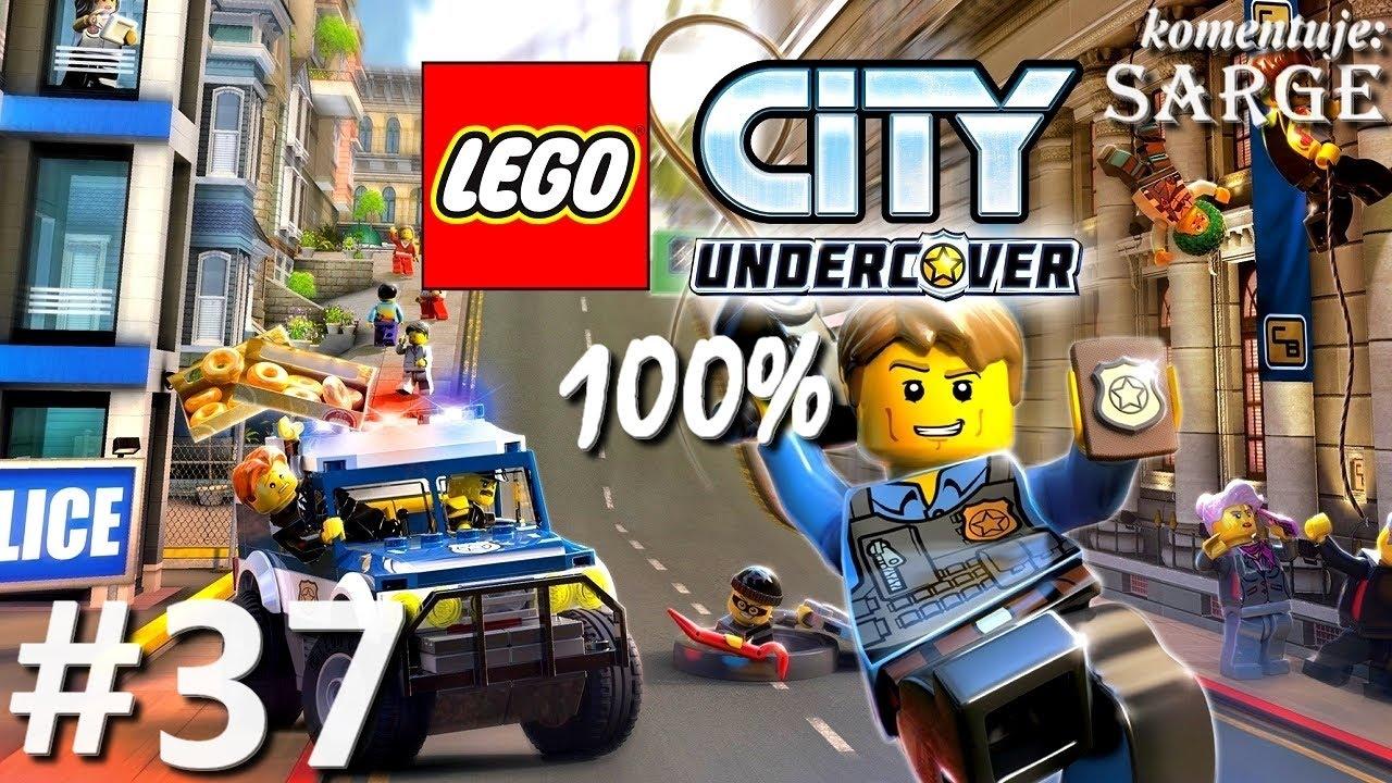 Zagrajmy w LEGO City Tajny Agent (100%) odc. 37 – Most nad Zatoką Auburn | LEGO City Undercover PL