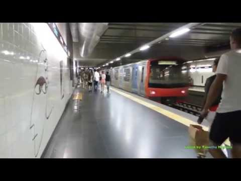 The Metro/Subway in Lisbon, Portugal