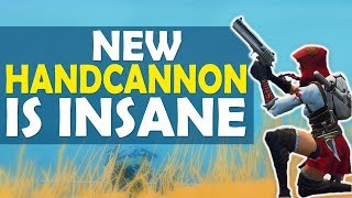 NEW HANDCANNON IS INSANE | YEEHAW BROTHER | HIGH KILL FUNNY GAME- (Fortnite Battle Royale)